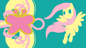 Fluttershy's Kindness Minimalist Wallpaper by Narflarg