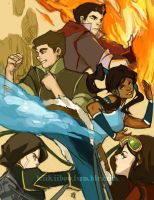 fanart. Legend of Korra by kiikii-sempai