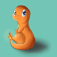 Quick Random Charmander Sketch Thing... IDK by Antares25