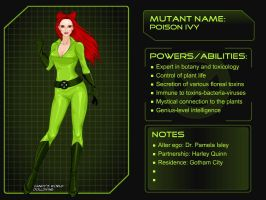 Poison Ivy (2) by DarthCrotalus