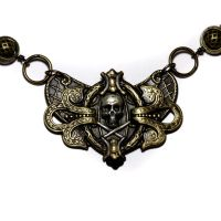 Steampunk Gothic necklace by CatherinetteRings