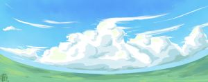 cloudy day by PickedPockets