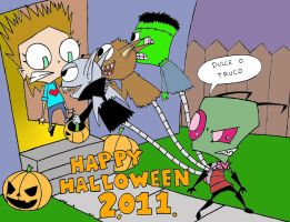 IZ HALLOWEEN 2011 by CHICAIRKEN