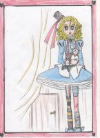Alice and the little door by Lady-Fayble