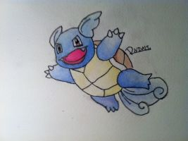 Kanto no. 008 Wartortle by Randomous
