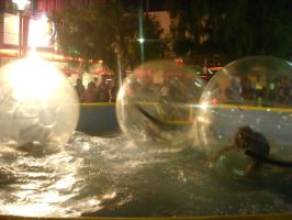 Bubble People Again by k8linswims
