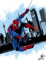 The Amazing Spider Man Color by MAXanimes
