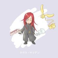 DGM Chibi- Cross Marian by Alix-chan