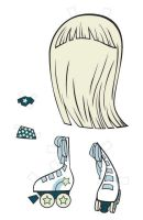 Milky Way Paper Doll Outfit I by fyre-flye