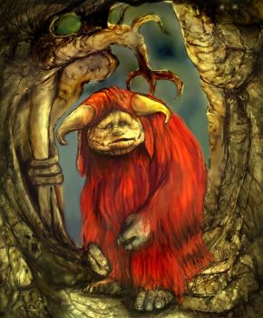 Ludo from Labyrinth by LevonHackensaw