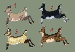 Deer Adopts 1 by Mustang-ADOPTS