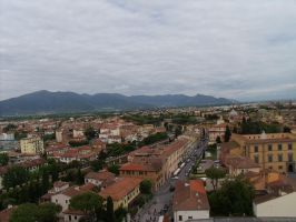 View over Pisa by BMFMhero1991