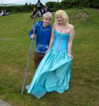 Jack Frost and Elsa by ZeroKing2015