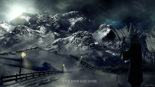 Photo Manipulation - Find Your Way Home by Redhz