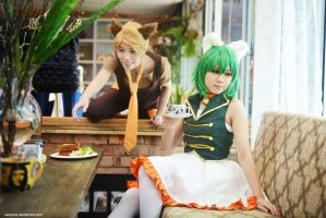 Vocaloid - Ah! FOOD by vaxzone