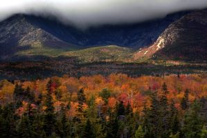 Katahdin Fall Foliage by BobVPR