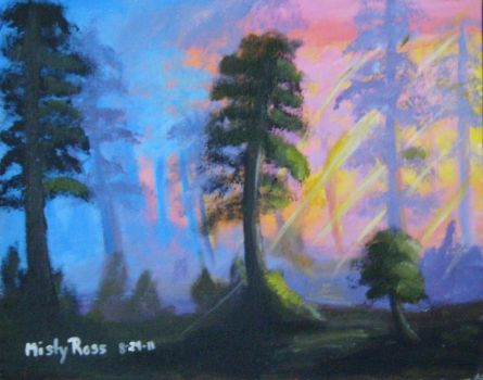 Trees: Painting 04 by Aurora7054