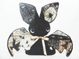 Bat Plushie - Halloween Special - For Sale by tiny-tea-party