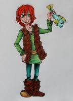 Hiccup by damsel-in-distrust