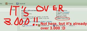3.000 Pageviews lolz by DarkRed27