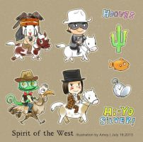 2013-7-16 the Spirit of the West by amoykid