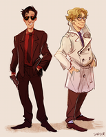 good omens by Sydsir