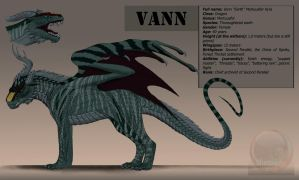 Vann dragon design for VentralHound by Archspirigvit