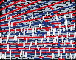 Abstract Patriotism by AgustinGoba
