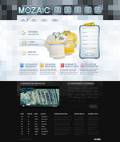 Free PSD Landing Page Template by reADactor