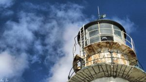 Rusted lighthouse by Ewe84