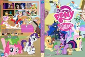 My Little Pony Season 2 Unofficial DVD cover by DaMagics