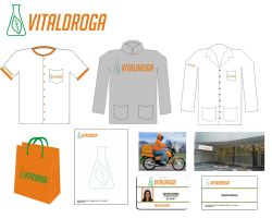 Vitaldroga Identidade Visual by GuillermoMila