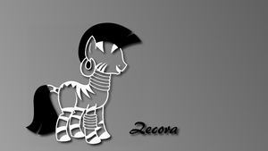 Zecora Simple Wallpaper by Mrocza