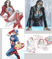 Gender Swap of The Avengers_1 by somachiou