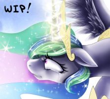 Celestia Preview by AlicornParty