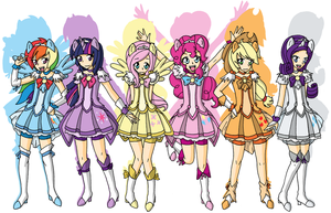 Friendship Precure! by mikiXtheXgreat