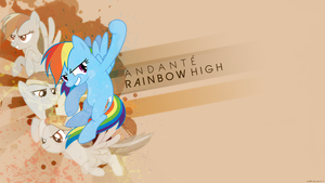 [Cover Art] Andante - Rainbow High (Sepia Version) by derplight