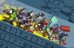 Sonic - Teams against Eggman by Tigerfog