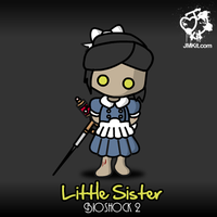 Bioshock: Little Sister by JinxBunny