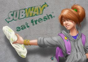 Subway Teen by Sirinava