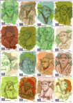 STAR WARS Sketchcards - Yoda by DenisM79