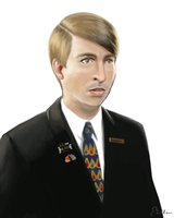 Kenneth Parcell by Ebillan