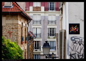 PARIS space invaders by caio