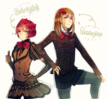 Plume Parade: They Are Roosters by Cioccolatodorima