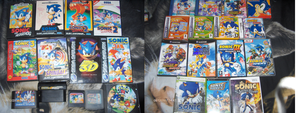 My Sonic's Collection : Games by Joellinathedog