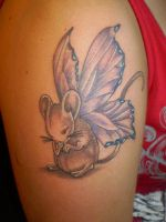 mouse tattoo by Unibody