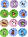 I Am A...Animal Buttons by hollyann