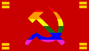 LGBT Communist Flag by BullMoose1912