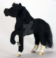 Needle Felted Arabian Horse by The-GoblinQueen