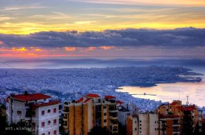 Cieux de Beyrouth by alahay